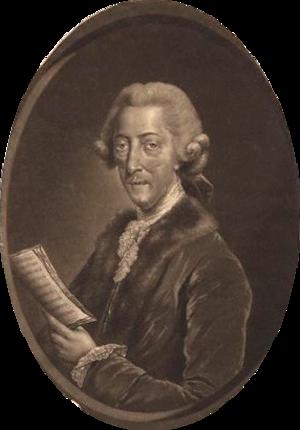 Thomas Arne - Thomas Augustine Arne, 1778