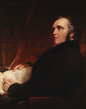 Thomas Babington Macaulay - Macaulay by John Partridge.