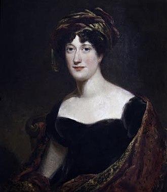 Anne Margaret Coke, Viscountess Anson - Thomas Barber (1771-1843), Lady Anne Margaret Coke, Viscountess Anson, circa 1815, Shugborough Estate, National Trust