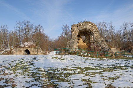 Ruins at the Fort du Salbert