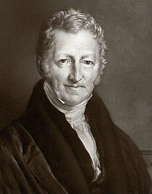 Thomas Robert Malthus cover