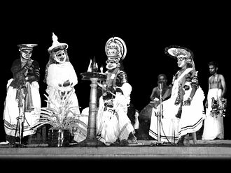 Koodiyattam - Image: Thoranayudham Madras 1