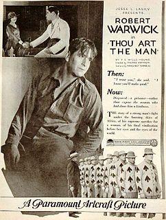 <i>Thou Art the Man</i> (film) 1920 film by Thomas N. Heffron