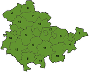 Thuringia map
