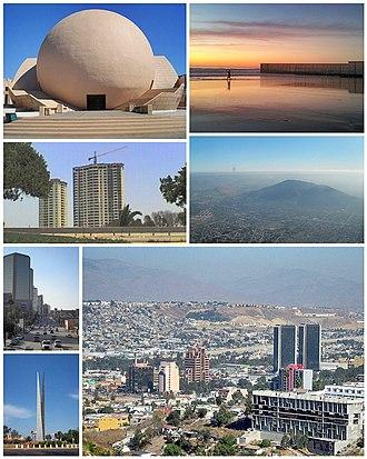 Tijuana - A view of Tijuana