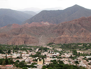 City in Jujuy, Argentina