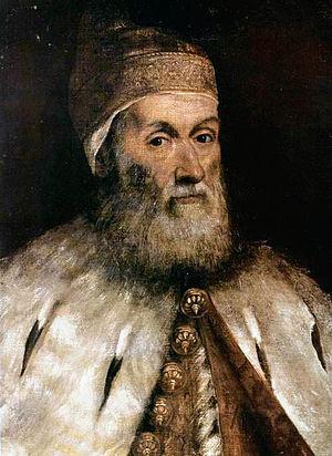 Girolamo Priuli (1486–1567) - Image: Tintoretto doge gerolamo priuli institute of arts detroit