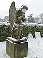 Tiverton , Tiverton Cemetery and Angel Gravestone - geograph.org.uk - 1654182.jpg