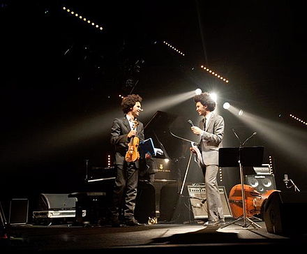Tony Tixier and Scott Tixier opening for Herbie Hancock and Chris Dave at the festival jazz en tete Tixierscotttony.jpg