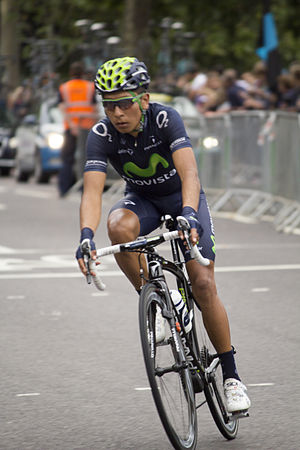 Nairo Quintana - Quintana at the 2013 Tour of Britain