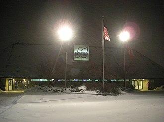 Wings Event Center - Image: Toledo Walleye vs. Kalamazoo Wings January 2014 01