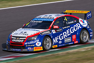 Tom Coronel - Coronel competing in the 2014 World Touring Car Championship