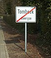 Tombeek exit sign.jpg