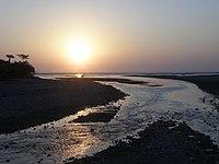 Tono River estuary, Oecusse, 17 Sep 2009.jpg