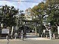 Torii of Sannomiya Shrine near Hatae Station.jpg