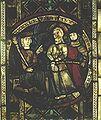 Torun, witraz Chrystus przed Pilatem.jpg
