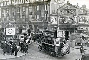 History of London (1900–39) - Tottenham Court road in 1927