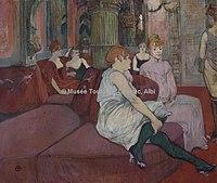 Toulouse-Lautrec - AU SALON DE LA RUE DES MOULINS, 1894, MTL.180.jpg