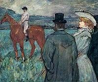 Toulouse-Lautrec - At the Races, 1899.jpg