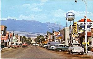 Townsend, Montana - Mainstreet, Townsend