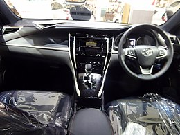 Toyota HARRIER TURBO ELEGANCE (DBA-ASU60W-ANTMT) interior.jpg