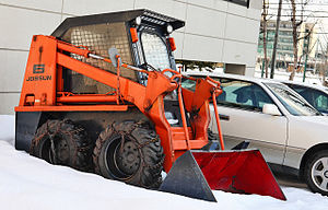 English: Skid steer loader, Toyota Jobsun 4SDK6