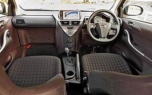 Toyota iQ - Toyota IQ interior.