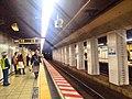 Tozai line - Takebashi stn platform - March 26 2018.jpg