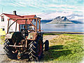 Tractor, house and Kirkjufell.jpg