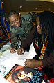 Tracy Price-Thompson signing autographs · DF-SD-07-44585.JPEG