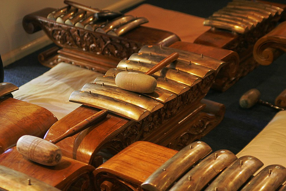Traditional indonesian instruments
