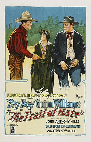 The Trail of Hate (1922 film) - Film poster
