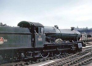 Western Region of British Railways - Image: Train.calcot.grange. 750pix