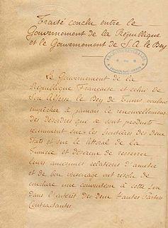 Treaty of Bardo treaty