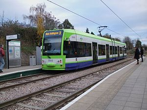 Flexity Swift - Image: Tram 2552 at Mitcham