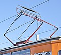 Tram in Sofia in front of Central Railway Station 2012 PD 084.jpg