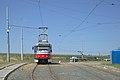 Tramo en Brno, returniĝa buklo Technologický park 2.jpg