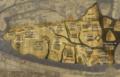 Transcripción de la península Ibérica en el mapa Hereford.png