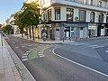 Traversée cyclable, rue Clemenceau - rue Paul-Doumer, Vichy.jpg