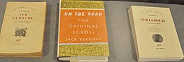 Tree publications of On the road by Jack Kerouac.JPG