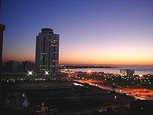 The infrastructure of Libya's capital Tripoli has benefited from the country's oil wealth.