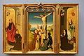 Triptych of Pieter van de Woestijne, view 1, Netherlands, c. 1475, oak - Bode-Museum - DSC03206.JPG