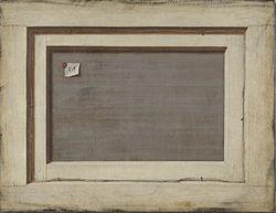 Cornelis Norbertus Gysbrechts: L'Inverse d'une peinture encadrée