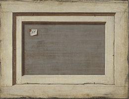 Trompe-l'œil : Dos d'un tableau — Wikipédia