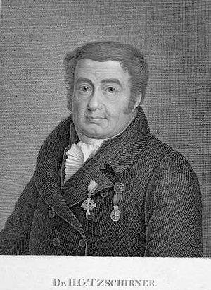 Heinrich Gottlieb Tzschirner - Heinrich Gottlieb Tzschirner (1778-1828)