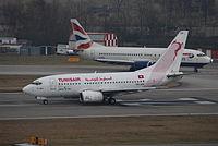 TS-IOP - B736 - Tunisair