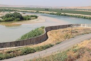 Syria–Turkey barrier