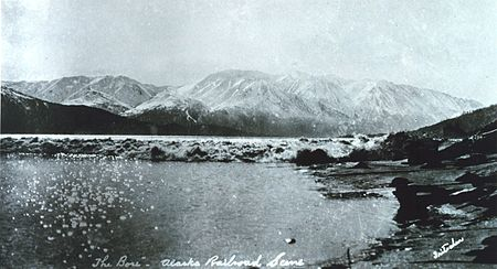 The tidal bore in Upper Cook Inlet, in Alaska Turnagain-bore.jpg