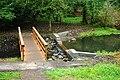 Turner Creek Park Hillsboro bridge and dam.JPG