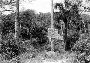 Turtle Mound - Image: Turtle Mound 1929 ge 1157